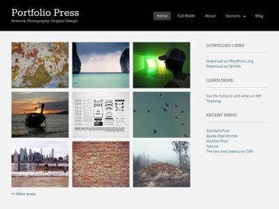 Portfoliopress WordPress Themes