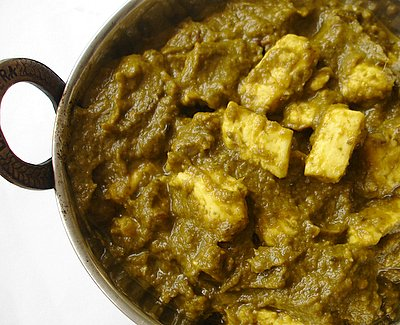 Palak Paneer Indian Food