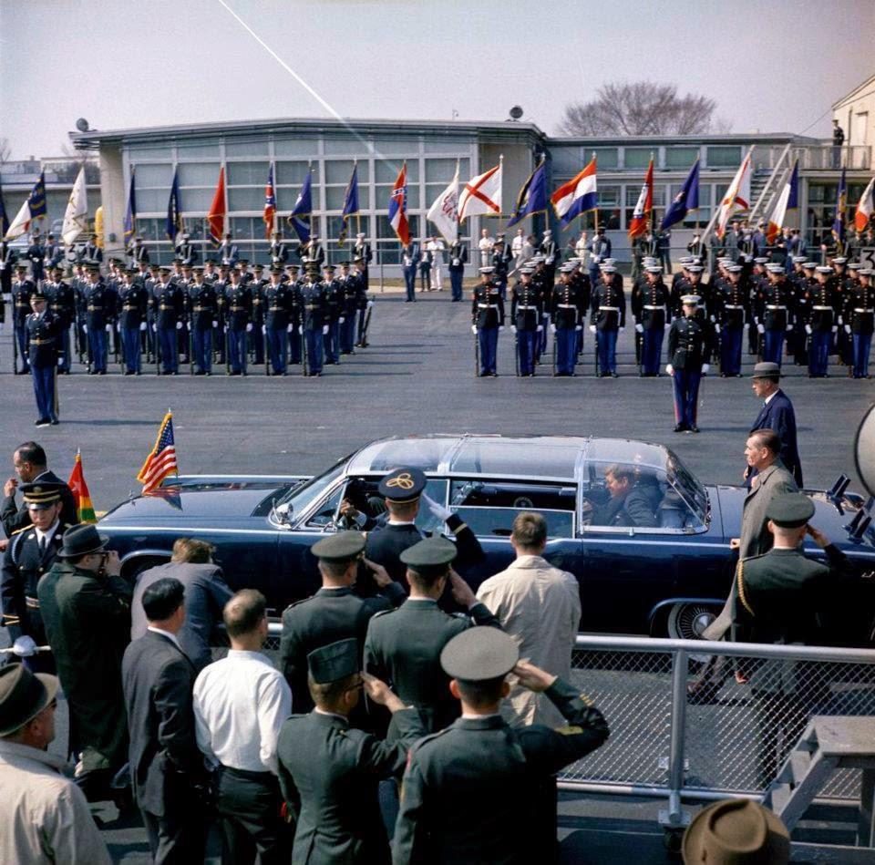 JFK bubbletop Washington, D.C. 3/20/62