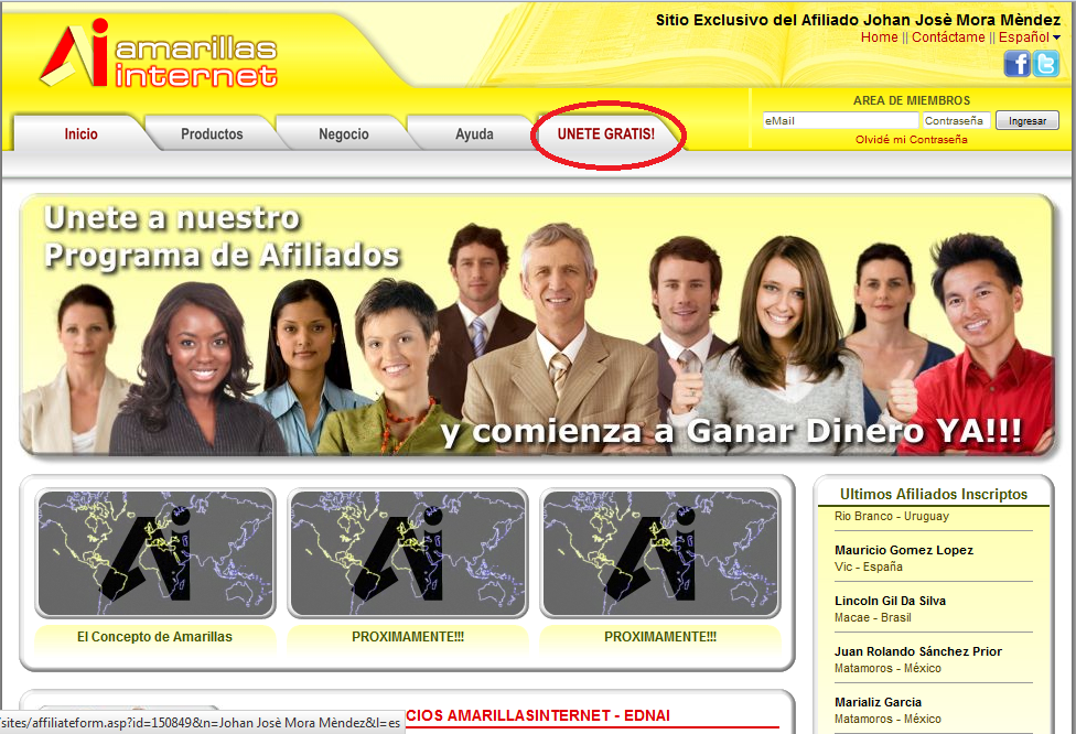 Dolares amarillos for Oficina virtual trafico