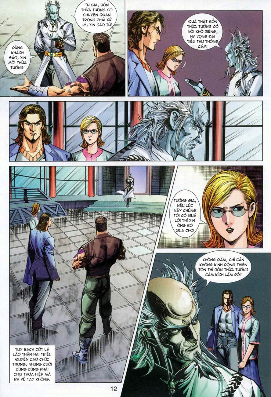 Tân Tác Long Hổ Môn chap 327 - Trang 11