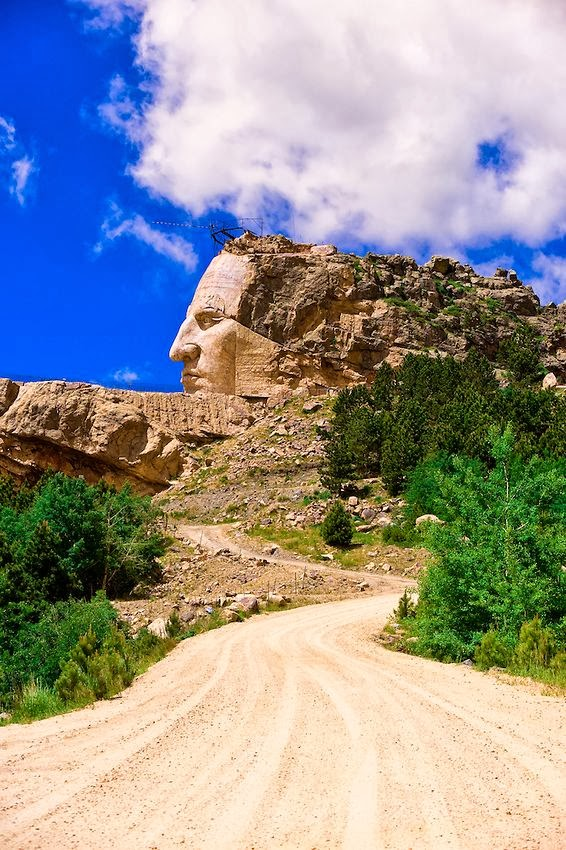 Crazy Horse Memorial, Black Hills, South Dakota ,USA