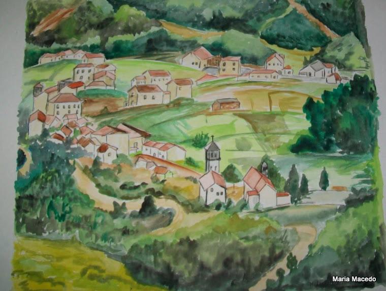 Uma aldeia serrana