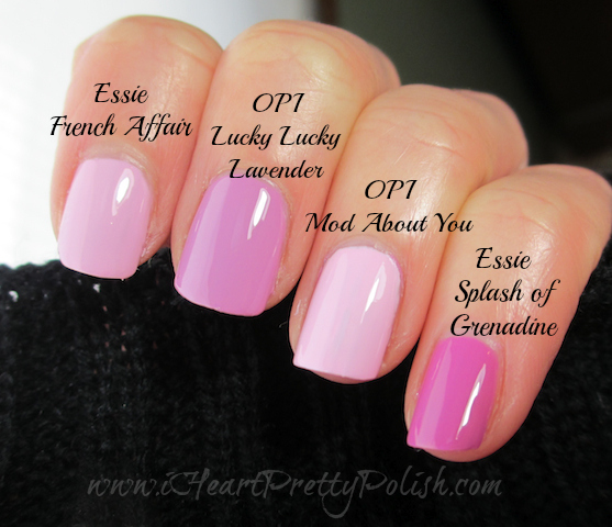 Lavender Pink Comparison Dupes