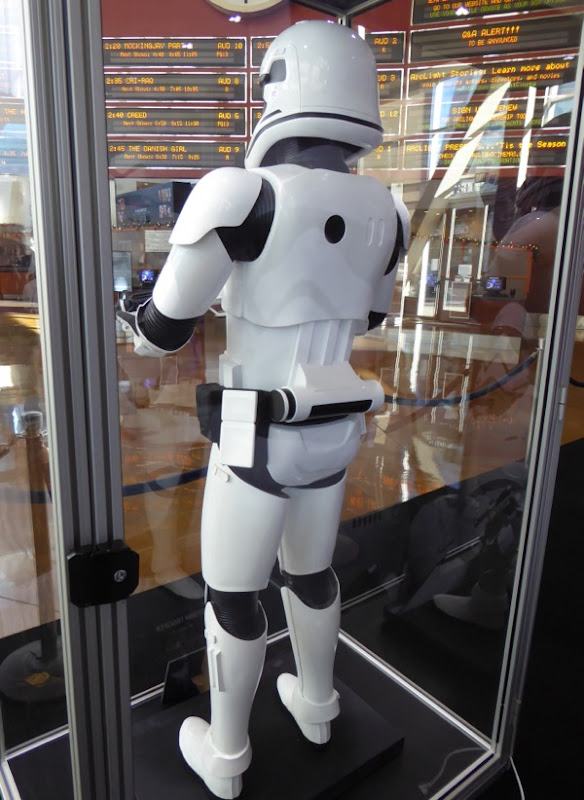 Star Wars First Order Stormtrooper costume back