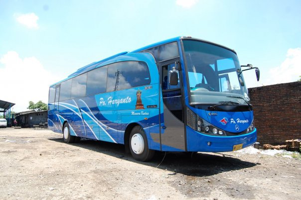 PO Haryanto - New Travego/New Marcopolo HD by Adi Putro | Mercedes-Benz Bus