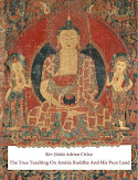 "NEW! FREE ONLINE EDITION OF MY BOOK ""THE TRUE TEACHING ON AMIDA BUDDHA AND HIS PURE LAND"""