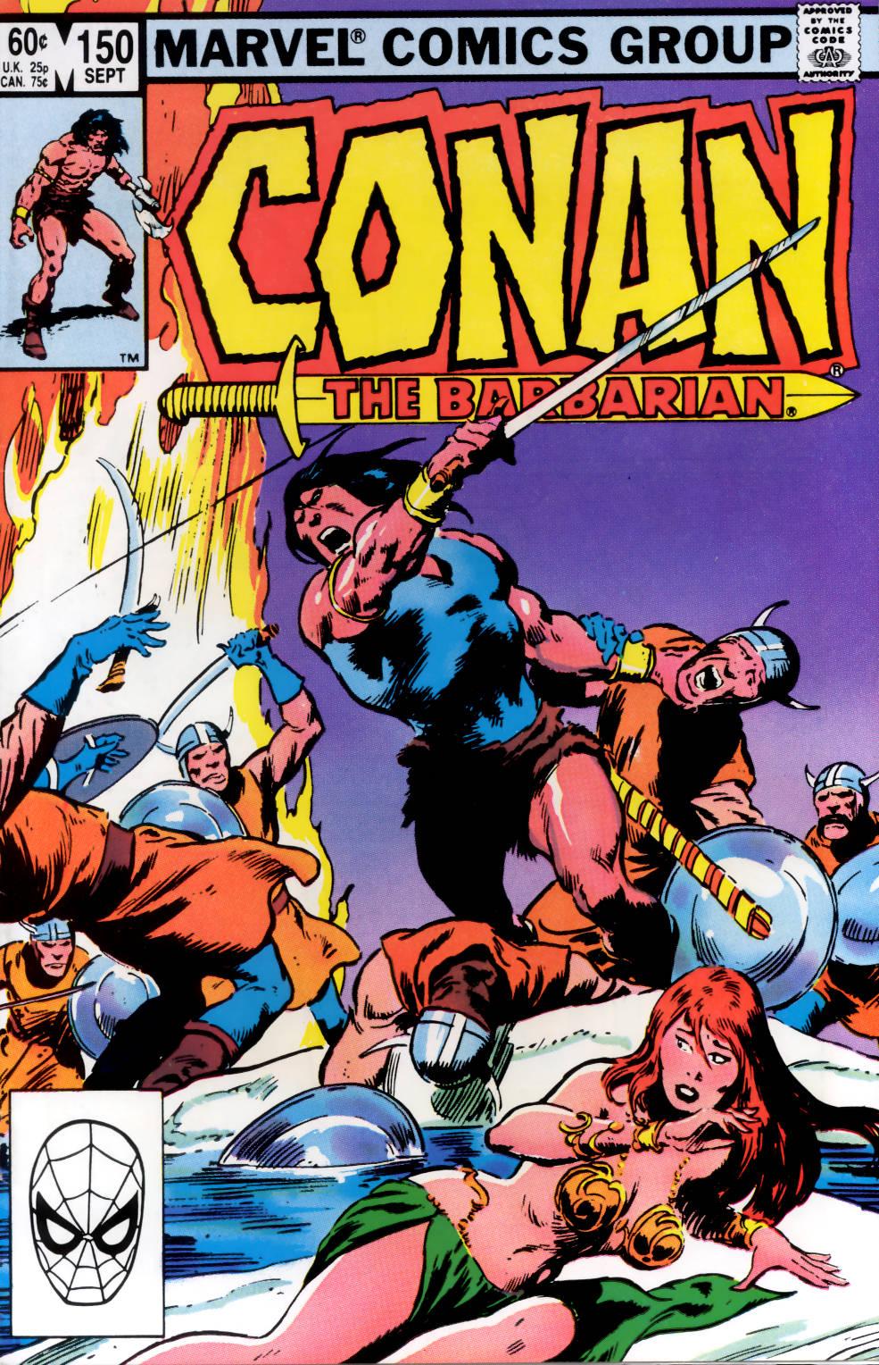 Conan the Barbarian (1970) Issue #150 #162 - English 1