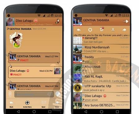 Themes Sunrise Purba Kalla Versi 2.5.0.36 BBM