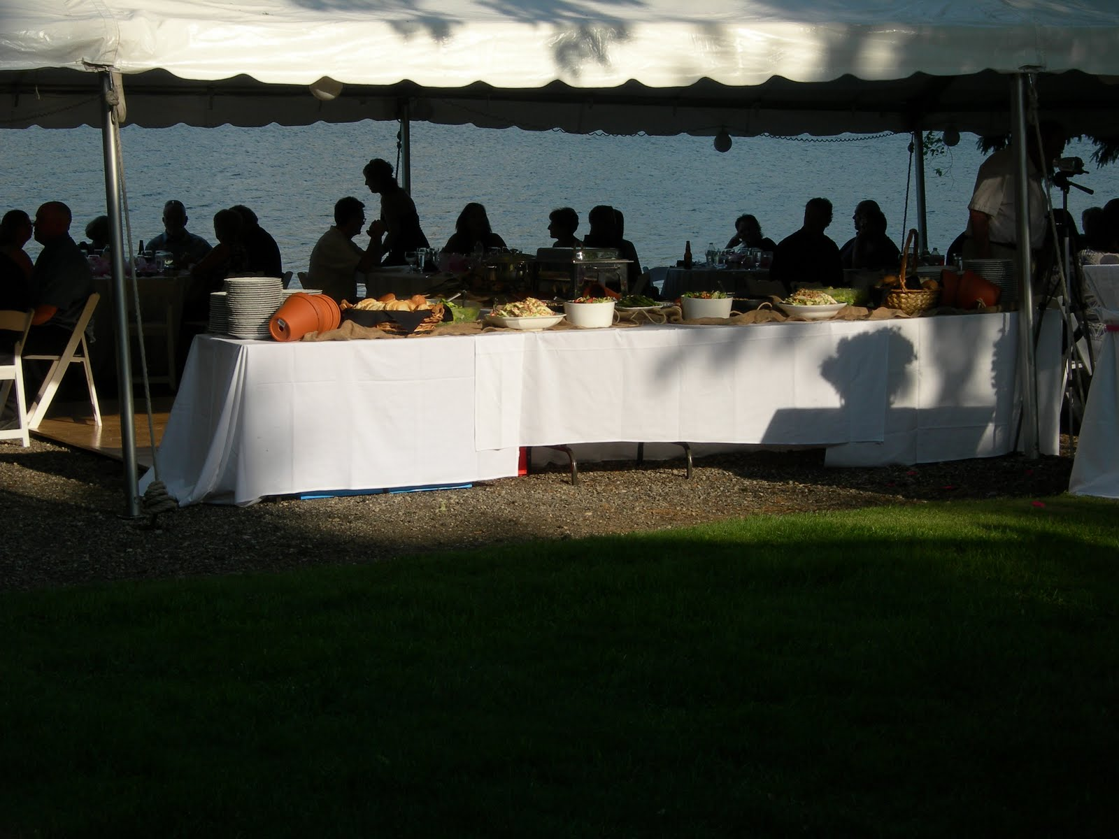 Events At Select Service June Tent Wedding With A Pig Roast Buffet Menu