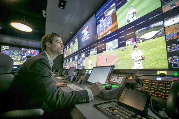 image the other paper mlb unveils roc its state of the art replay