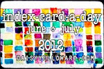 index-card-a-day 2012