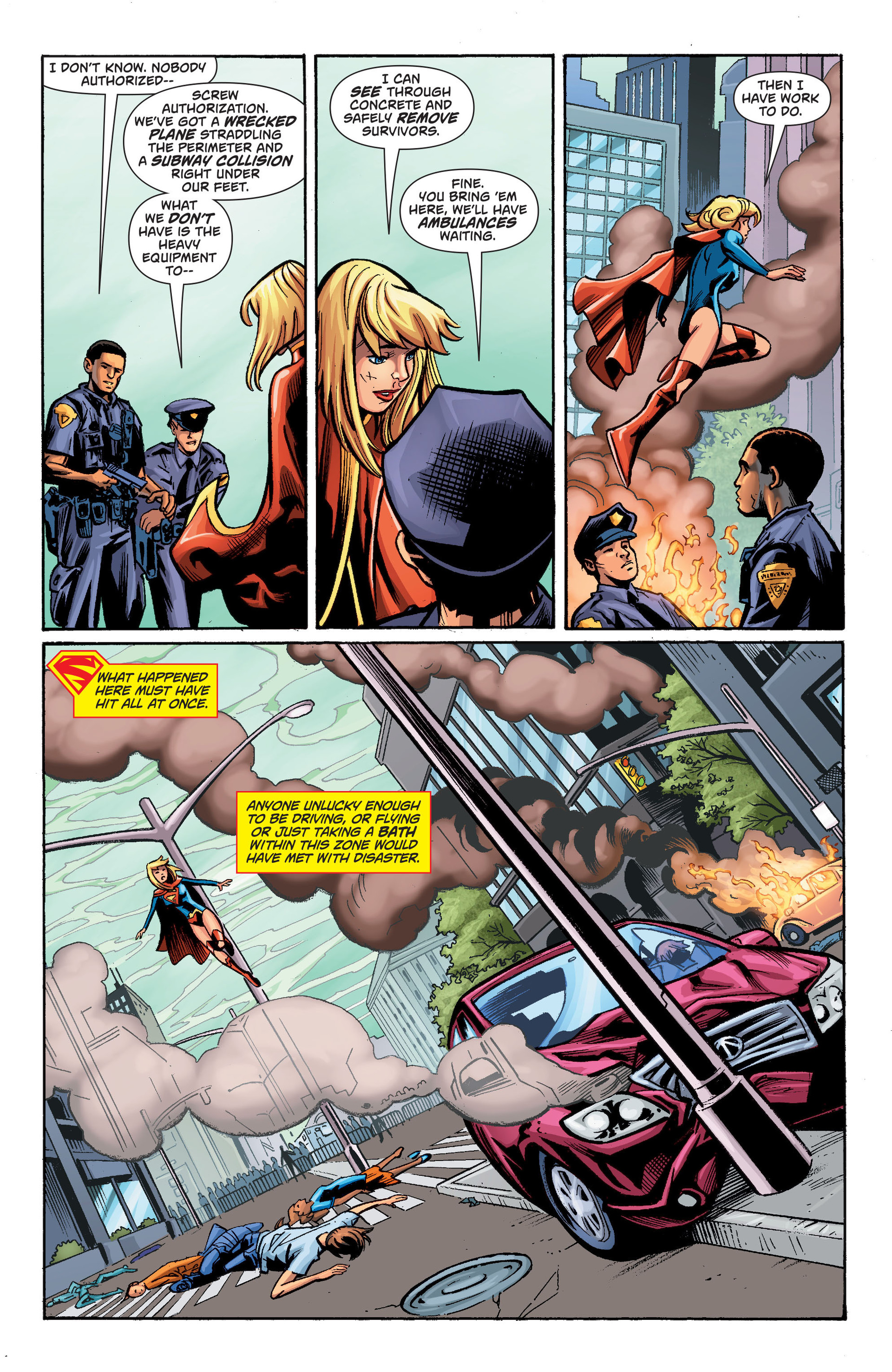 Supergirl (2011) Issue #34 #36 - English 14