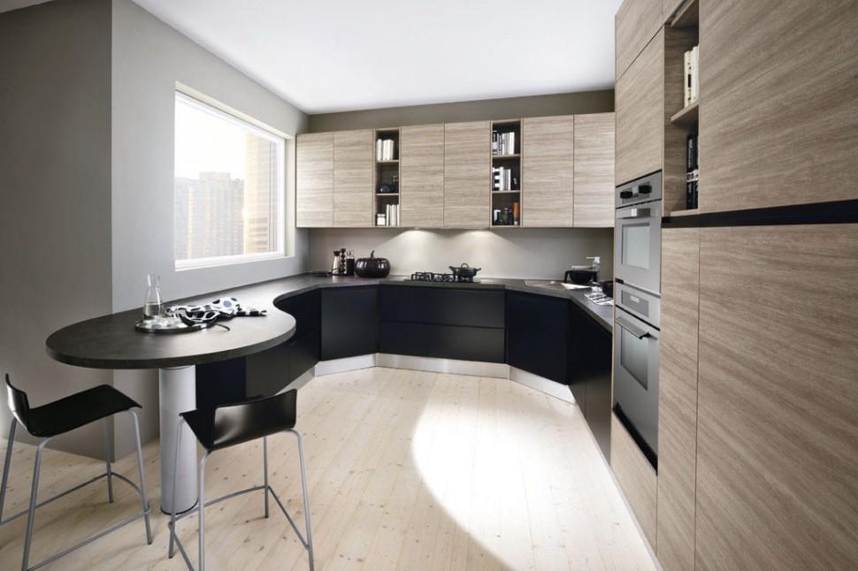 Una mesa para la cocina dise ando un lugar m s sociable cocinas con estilo - Mesas redondas para cocinas ...