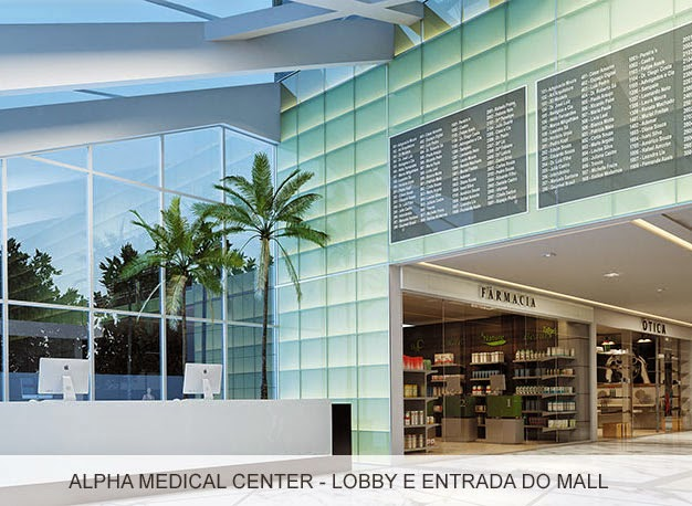 Alpha Medical Center - Lobby e Hall