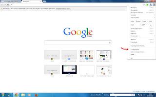 Pint do navegador Google Chorome