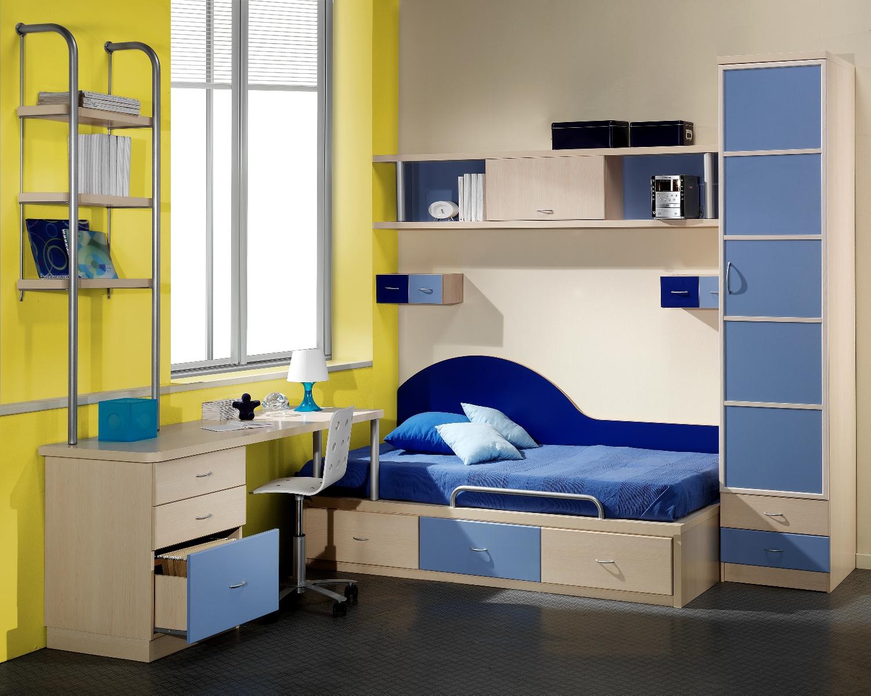 Cama mesa abatible camas autoportantes fotos tipos de for Muebles juveniles de madera