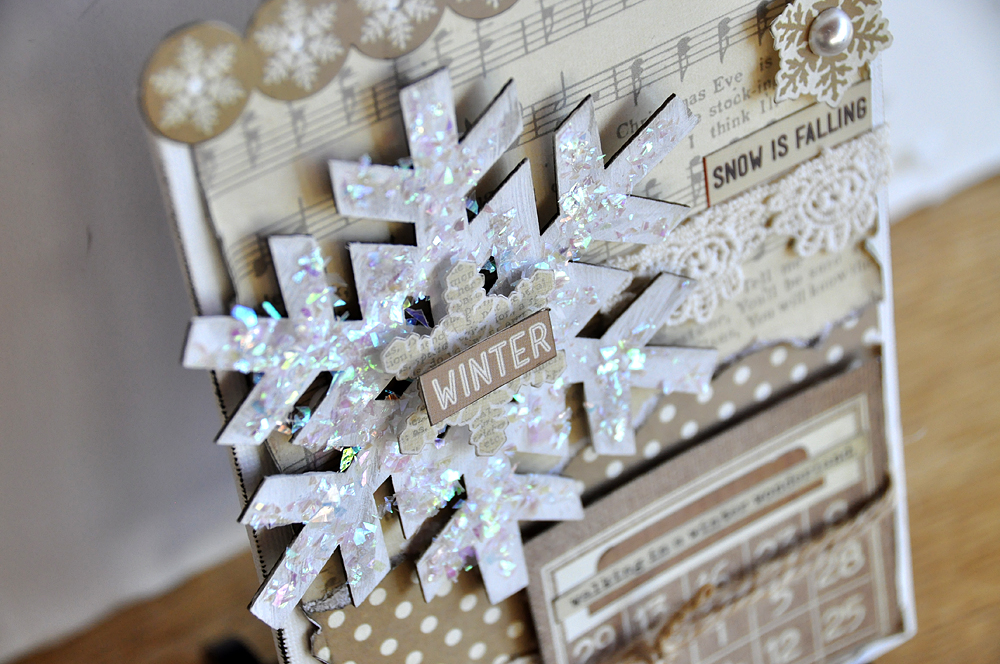 Blessed Scrapper Simple Stories Winter Wonderland Home Decor