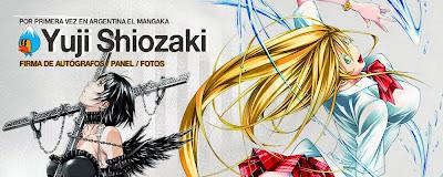 yuji shiozaki mangaka ikkitousen en argentina anime friends argentina 2014