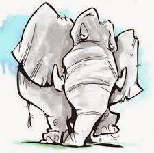 Narrative Teks Tentang Gajah: Openg and the Elephant