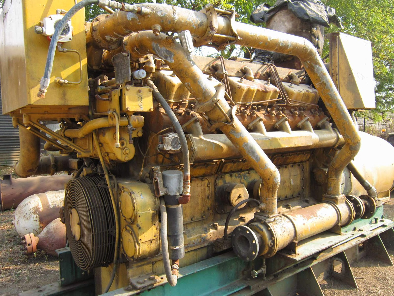Caterpillar D398 V-12, Caterpillar D398 manual, CAT D398