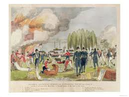 The war of 1812 the oldest color image