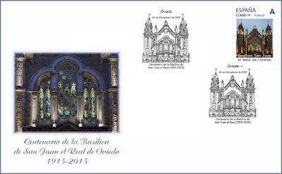 Sobre del centenario de la iglesia de San Juan el Real de Oviedo