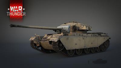Новый танк Centurion Mk 3
