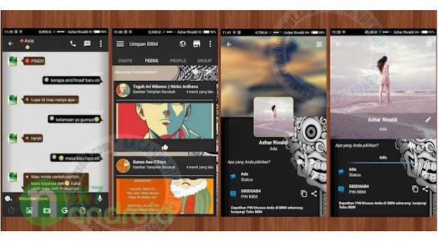 BBM Mod Thema Aksara 2.11.0.18 Apk