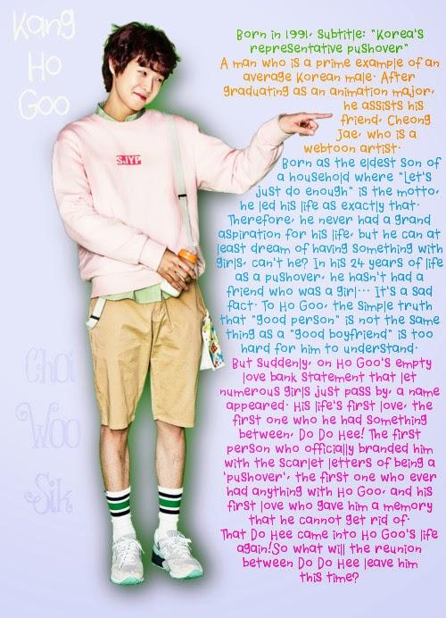 Choi Woo Shik as Kang Ho Goo