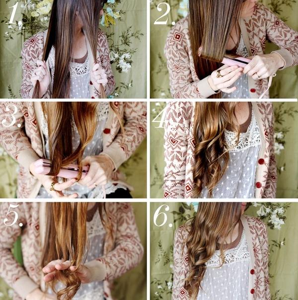 Как сделать красивые волны на волосах в домашних