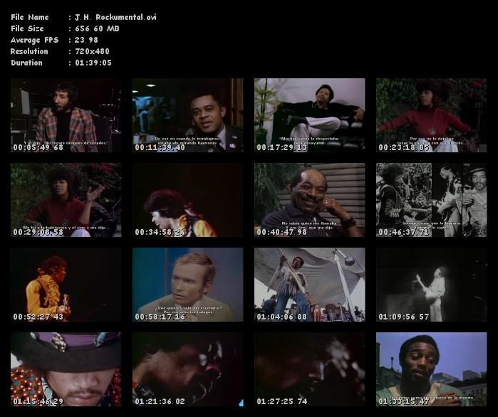 "Jimi Hendrix ""Rockumental"" Documental Subtitulado!!"