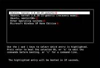 Ubah Grub Linux Ubuntu ke Windows