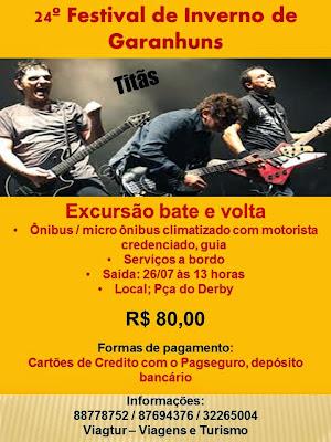 EXCURSÃO FESTIVAL DE INVERNO