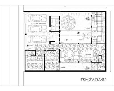 La forma moderna en latinoam rica que hacer con un for Casa vivienda jardin pdf