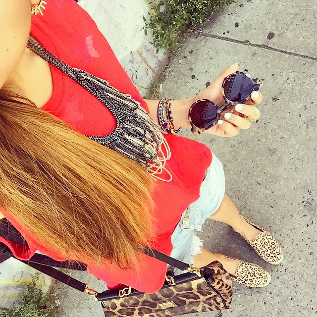 nation ltd, komono sunglasses, baublebar ear jackets, kendra scott necklace, one teaspoon shorts, fashion blog, dolce and gabbana bag