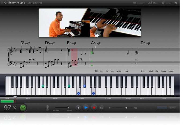 learning - Using keyboard/MIDI controller to learn piano ...
