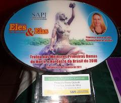 Troféu das Melhores Primeiras Damas do Norte Nordeste