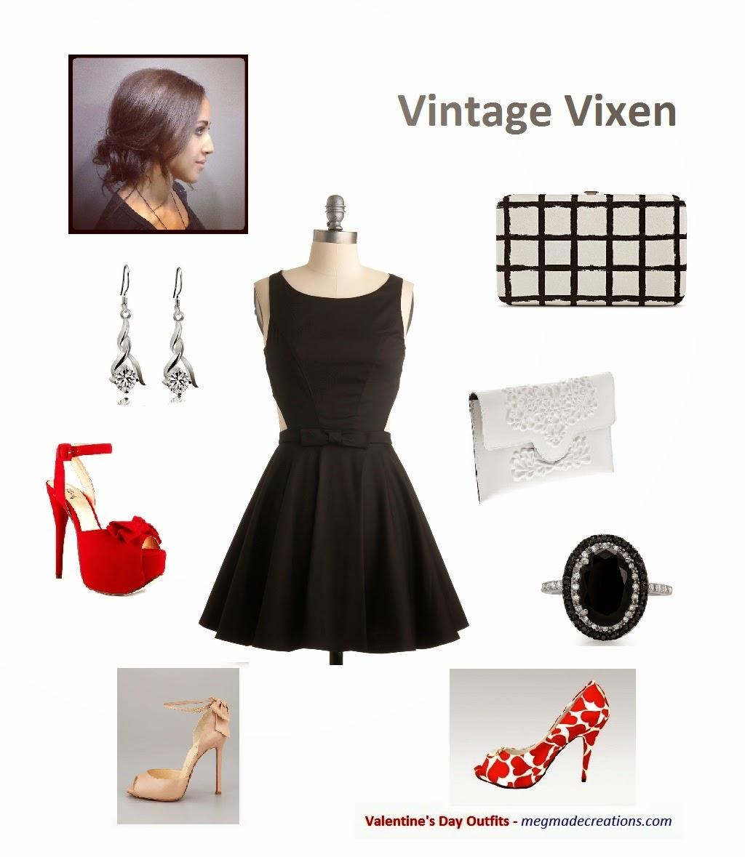 accessorize little black dress