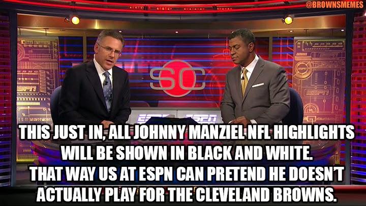 Johnny Manziel Memes NFL Cleveland Browns ESPN
