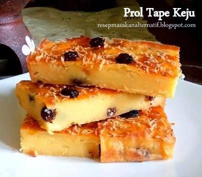 Resep Membuat Prol Tape Keju Panggang