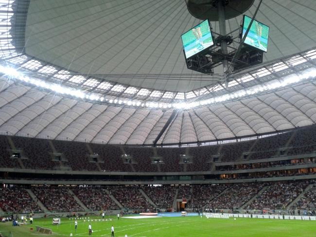 Stadion Narodowy podczas V Memoriału im. Kamili Skolimowskiej - fot. Tomasz Janus / sportnaukowo.pl
