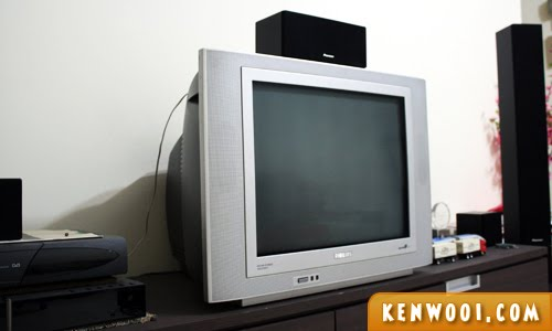 old crt tv