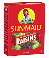 kismis sun maid raisins california