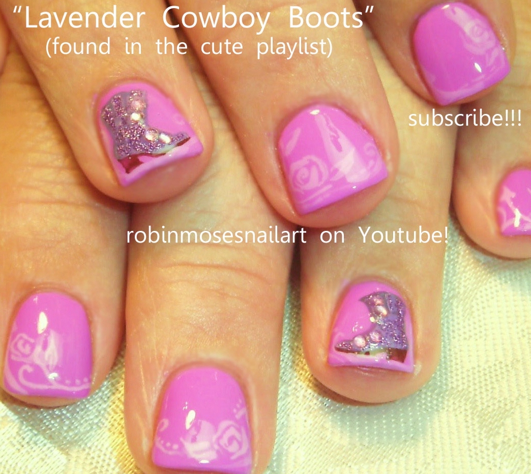Cute country nail designs country nail art cute cowboy