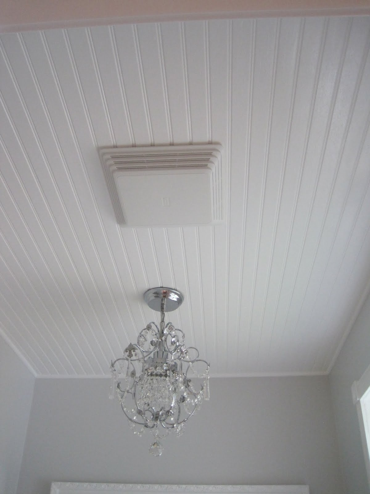 Beautiful Nest Master Bath Reveal With Bead Board Ceiling