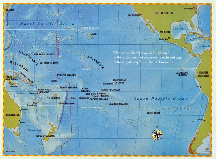 Fiji The Indigenous Foods Of The South Pacific USAussieChefs - Republic of fiji map