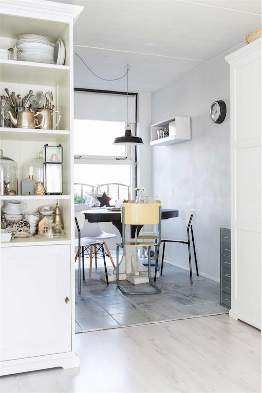 Casa holandesa decorada en tonos grises chicanddeco