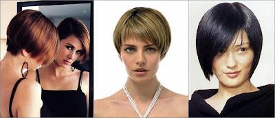 contoh model rambut bob pendek
