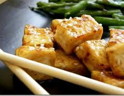 Delish Orange Glazed Tofu